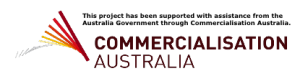 Commercialisation Australia Logo for PerformAir Website 2